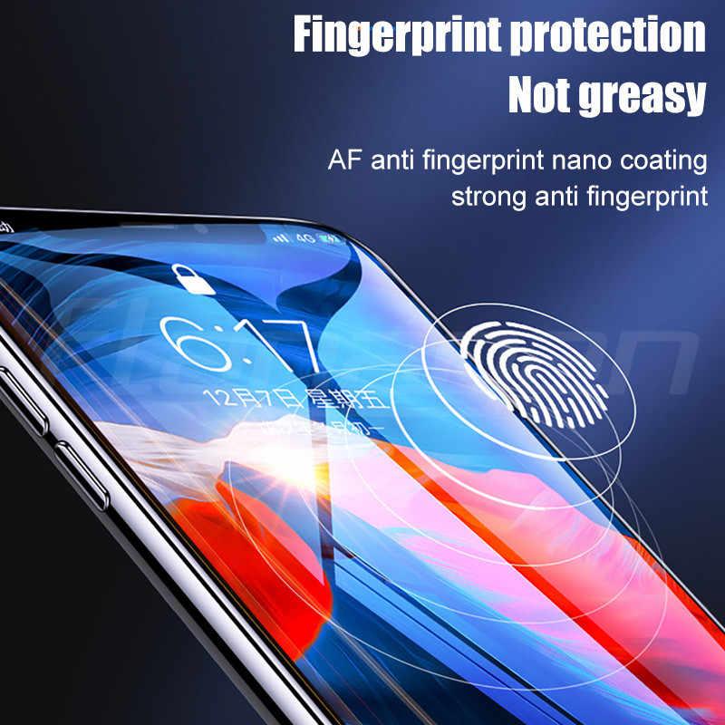700D Copertura Completa di Protezione In Vetro Temperato Per il iPhone 7 8 6 6S Plus Protezione Dello Schermo Per il iPhone 11 pro X XR XS Max Pellicola di Vetro