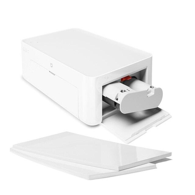 Xiaomi Mijia Mi Photo Printer 6-inch High-Definition Auto Film Multi-size ID Photos Smart Printer Wireless Phone Photo Printer 2