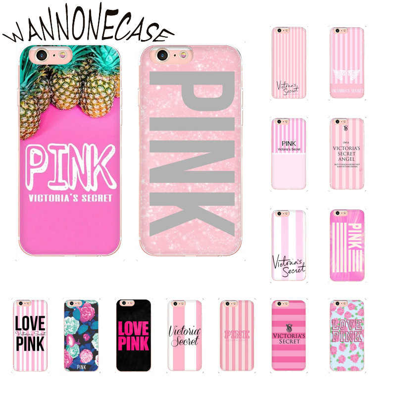 WANNONECASE Victoria's Secret Pink Cover Soft Shell Phone Case For ...