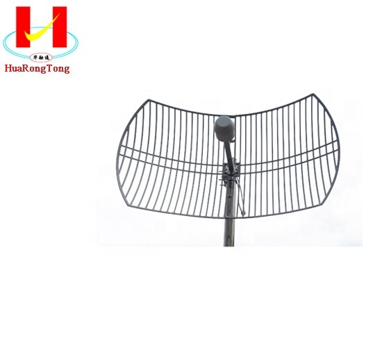 2.4g 1700-2700mhz 24dbi High Gain Mimo Parabolic Grid Antennas Antena Wifi