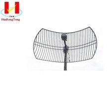 2.4g 2300 2700mhz 24 * 2dbi alto ganho mimo antenas parabólicas da grade antena wi fi