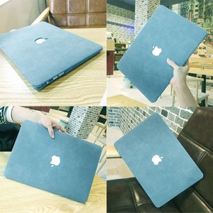 PU Leather Shell Skin Cover Case For Apple MacBook Pro Air Retina 13 13.3 15 16 11 12 Inch Laptop New A1932 A1706 A2289 A2141