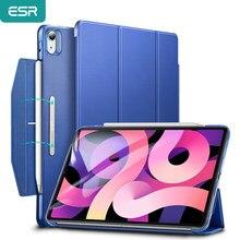 ESR étui pour 2020 iPad 8th 7th Air 4 / 2020 iPad Pro 11 ''12.9 'pouces lumière Simple couverture intelligente avec porte-crayon boîtier
