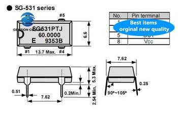 10pcs 100% orginal new SG-531P 24M 24MHZ 24.000MHZ active in-line crystal DIP-4 OSC