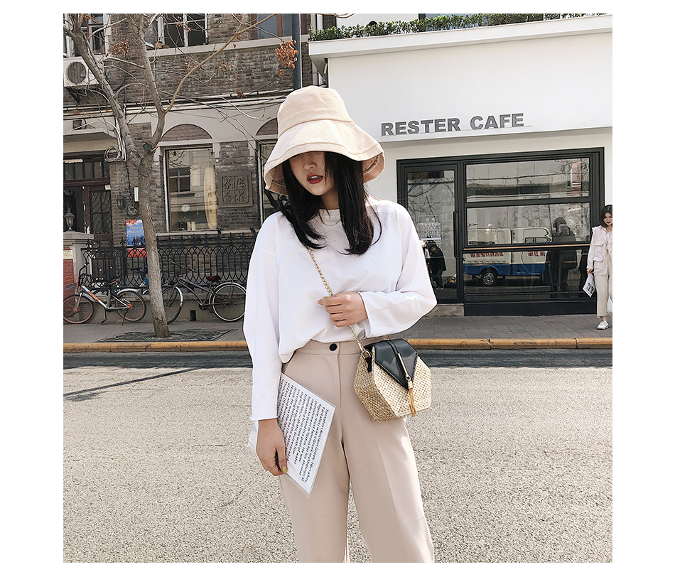 H3536f62a1e1c4af6ab3fad8e96d7fe0fc - Mulit Style Straw leather Handbag Women Summer Rattan Bag Handmade Woven Beach Circle Bohemia Shoulder Bag New Fashion