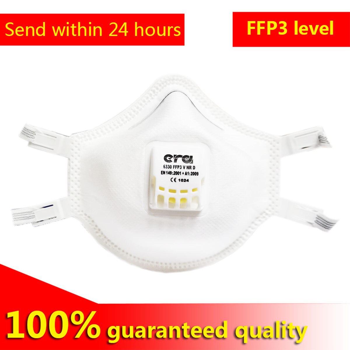 FFP3 Level Masks Imported High Quality Mask FFP3 Protective Mask Independent Installation FFP3 With Breathing Valve FFP3 Grade