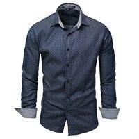 Трансграничной для Новый стиль импортные товары большие Размеры Мужская джинсовая рубашка с длинными рукавами для мальчиков рубашка в гор...