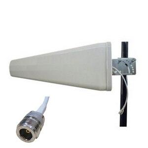 Image 1 - 가난한 신호를 수신하는 모바일 부스터 리피터 앰프의 11dBi LPDS 안테나 실외 방향