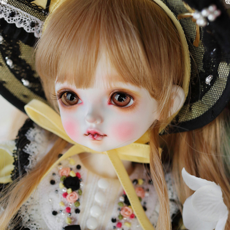 1/4 BJD SD poupée corps modèles Joint résine BJD poupée jouets pour enfants cadeau avec les yeux libres