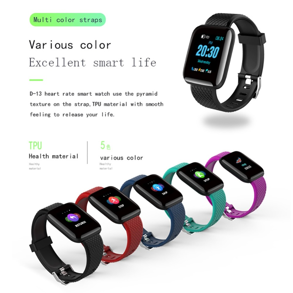 Super Neu Smart Uhr <font><b>IP68</b></font> Wasserdicht Herz Rate Aktivität Fitness Tracker Bluetooth Smartwatch für iphone Android-Handy image
