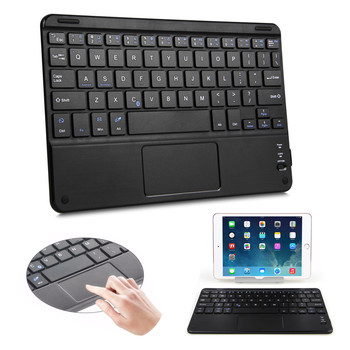 81Keys Mini Wireless bluetooth Keyboard With Touchpad Trackpad 3.0 Tablet Keyboard For Android 3.0 For Windows XP/7/ 8 and above