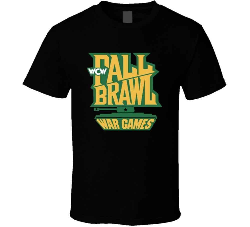 Wcw Fall Brawl War Games Wrestling Футболка-Черный Xxxtentacion
