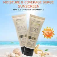 Disaar Facial Body Sunscreen Whitening Cream Sunblock Skin Protective Cream Anti-Aging Oil-control Moisturizing SPF 50 Skin Care