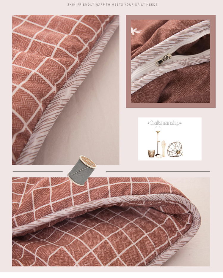 Winter Comforters Lazy Quilt with Sleeves Family Throw Blanket Hoodie Cape Cloak Nap Blanket Dormitory Mantle Covered Blanket 18