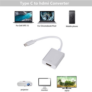 Image 3 - Grwibeou USB C TO HDMI Adapter Cable Usb 3.1 Thunderbolt 3 To HDMI Iphone Usb c To HDMI Switch Cable Converter for Type C Device