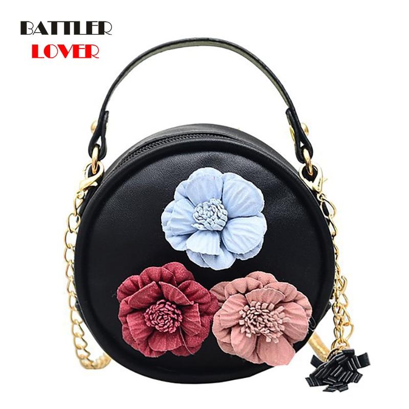 Flower Bags for Women 2019 Bags Women Small Handbag Bolsa Feminina Shoulder Messenger Bag Mujer Femme Luxury Handbags Girls Bag