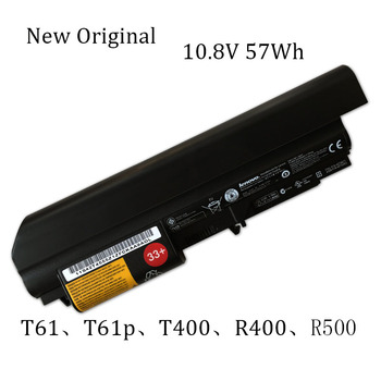 New Original Laptop replacement Li-ion Battery for Lenovo ThinkPad T61、T61p、T400、R400、  R500、R61、R61i 10.8v 57Wh