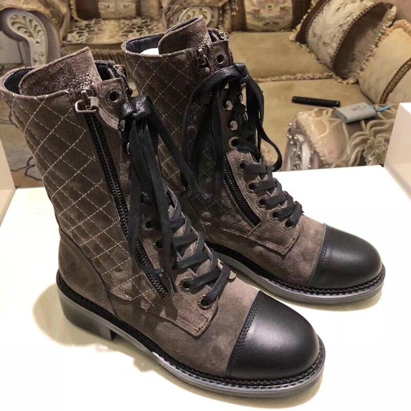 Г., новые модные повседневные женские ботинки «Мартенс» удобные вязаные дышащие женские ботинки на шнуровке женская обувь на толстой подошве