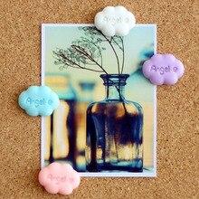 4 шт цветные облачные карты нажимные булавки фиксированные кнопки для большого пальца пробковая доска для настенных ногтей милые Креативные Diy декоративные Thumbtacks офисные канцелярские принадлежности