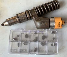 CAT C13 C15 C18 3512 Injector Solenoid valve Spring force adjusting gasket, diesel Injector Shim Washer 2.80 3.20mm