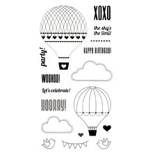 Clear stamp Scrapbook DIY photo cards account News the sky the limit party rubber stamp transparent stamp Handmade card stamp cheap JOYSDIY TC-YD-1508 Roller Stamp Decoration