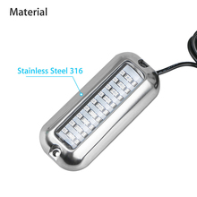 Lighting Transom Lights Accessories Pontoon Marine 10-30 VDC 120° 3.6W Part Boat 27-LED Blue