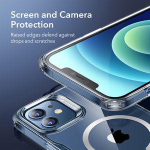 Image 5 - ESR Magnetic Case for iPhone 12/12 Pro Max Sidekick Hybrid Case with HaloLock Magnetic Wireless Charging Case for iPhone 12 Pro