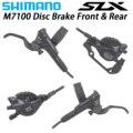 SHIMANO SLX M7100 M7120 тормоза для горных велосипедов Hidraulic Дисковый Тормоз MTB BR BL-M7000 M7100 800 мм/1500 мм левый и правый