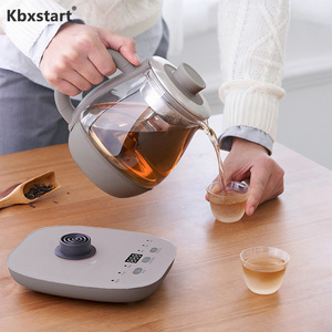 220 В многофункциональный электрический чайник Спрей Тип чайник высокое боросиликатное стекло интеллектуальное сохранение тепла здоровье ...