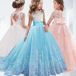 2019 da menina de Flor para casamentos vestidos de comunión primera primera comunion 2019 vestido de baile vestidos para as meninas da criança concurso