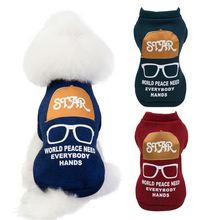 S-2XL Warm Dog Clothes Winter Dog Jacket Coat Clothing French Bulldog Chihuahua Pet Clothes For Small Dogs Pets Cat Puppy Outfit cartoon funny christmas dog clothes for small dogs winter coat french bulldog jacket chihuahua shih tzu outfit puppy pet clothes