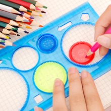 Spirograph Variety Multi-Function Drawing Template Ruler Interesting Creative Pupils' Stationery Children's Gifts