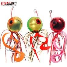 FUNADAIKO-leurre métallique pour la pêche au type Inchiku, jupe en forme de poulpe, type type type type type de poisson, pour la pêche à la turlutte lente, 100/120/150/200g