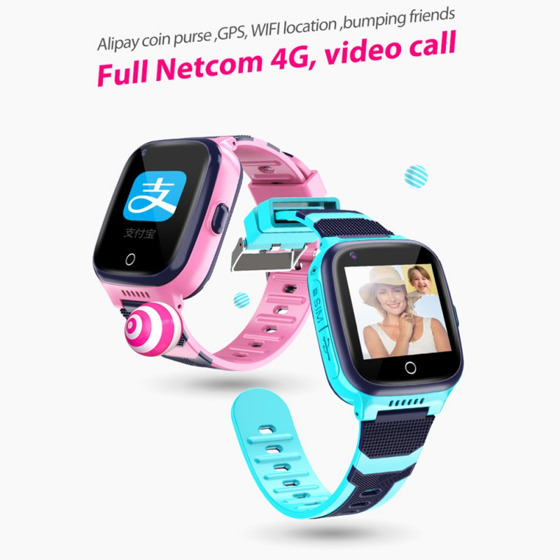 Y98 4G Full Netcom Smart Kids Watch Waterproof WIFI GPS Positioning Video Call Monitor Clock Students Wristwatch Children