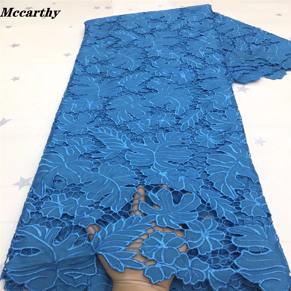 2021 High Quality Embroidery Nigeria Lace Fabric France Cord Lace Fabric Africa Guipure Lace For Party Dress Popular Dubai Style