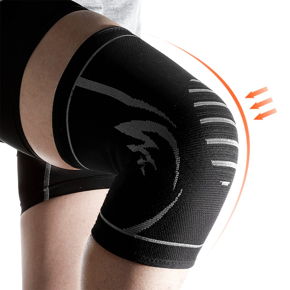 1PC Knit Knee Pads Durable Nylon Knees Brace Sports Protecting Pads Ultra Thin Knees Support Safety Kneepad Top Sales