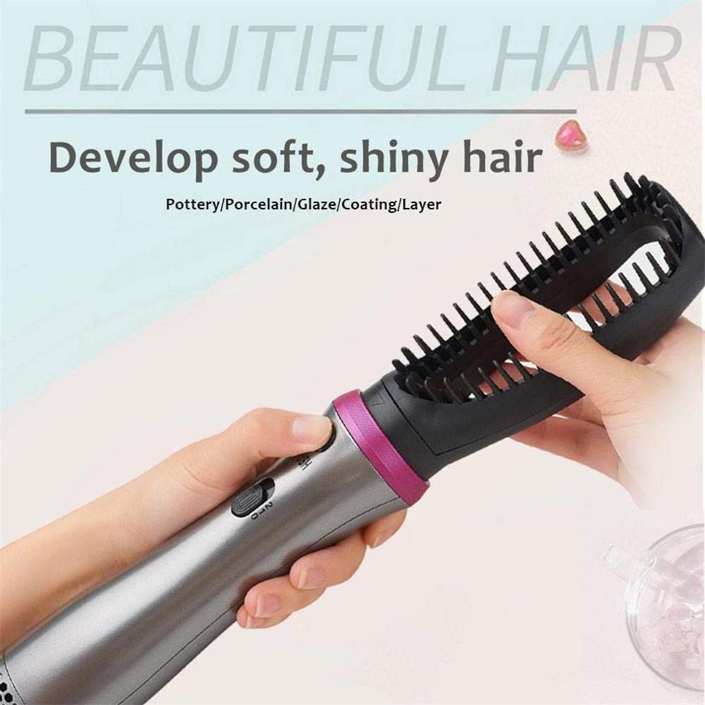 5 em 1 quente-ar escovas de cabelo