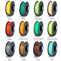24 farben Optional 1kg 3D Druck Stift Filament Refills Farbe PLA Kinder Zeichnung für 3D Doodle/3D Zeichnung stift Doodle Filame auf