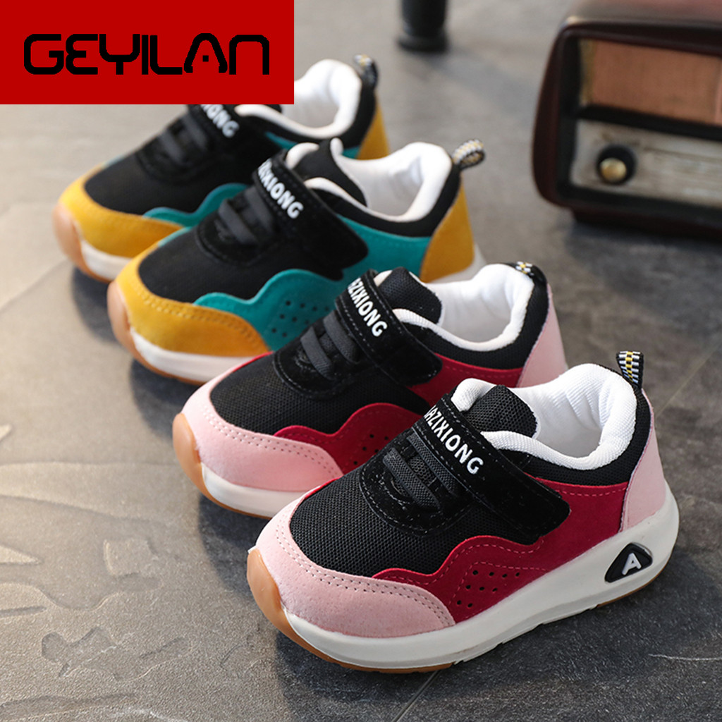 Baby Sneakers Spring Kids Shoes Breathable Boys Girls Sport Shoes Children Casual Sneakers Baby Running Shoes Outdoor Mesh Shoes