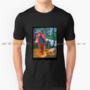 Le Sorcier D'Hiva Oa [с укулеле] летняя забавная футболка для мужчин и женщин ukele Uke Gauguin Sorcier Dhiva Oa Primitivism 1902