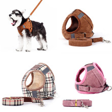 Explosion-Proof Reflective Pet Vests Dog Harness Set Suitable For Small And Medium Dogs Cats Puppy Chest Strap