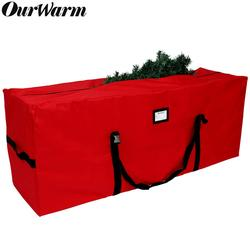 OurWarm Waterproof Oxford Outdoor Furniture Storage Bag Christmas Tree Organizer Multi-Function Large Capacity Storage Pouch