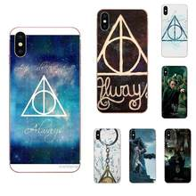 Custom Design Always Deathly Hallows For Xiaomi Mi3 Mi4 Mi4C Mi4i Mi5 Mi 5S 5X 6 6X 8 SE Pro Lite A1 Max Mix 2 Note 3 4(China)
