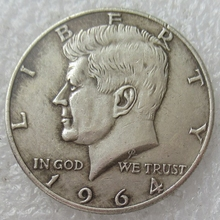American 1964 Kennedy Dollar old coin Commemorative Coin Eagle Claw Collection Coin Dollar Us Coins Gift single custom coins low price us army challenge coin metal milirary coins hot sale american coin fh810251