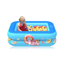 Детский надувной бассейн Летняя Вечеринка семейная водная игра