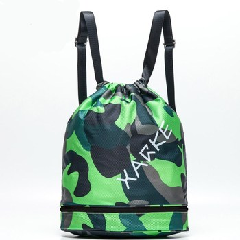 XARKE Waterproof Backpack Swimming Bag with Shoes Storage Gym Combo Dry Wet Bag Fitness Camping Pool Beach Men Women Kids 1