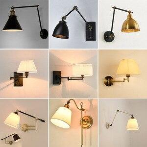 Nordice lâmpada de parede luz cristal sala jantar sala estar corredor quarto lâmpada
