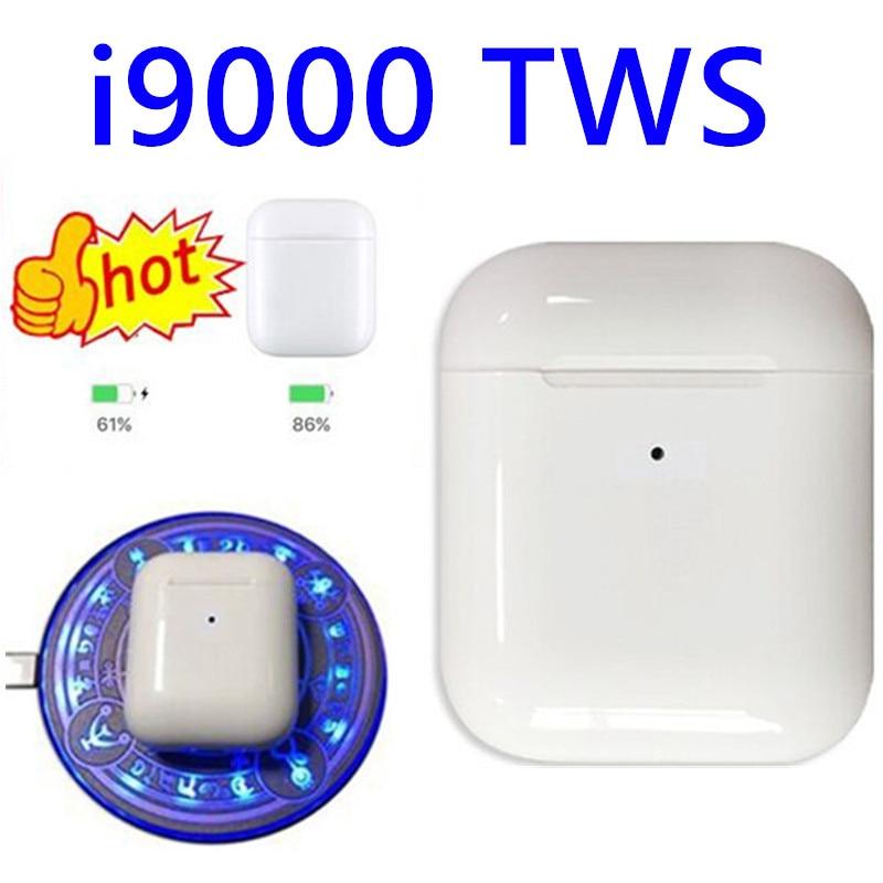 I9000 Tws 1:1 Air Smart Sensor 8D Bass Wireless Charging Bluetooth 5.0 Earphone Earbuds I9000 Tws PK I10 I12 I60 I200 I5000 Tws