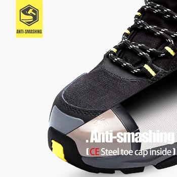 Sepatu Kaki Keselamatan Anti-Smashing  2