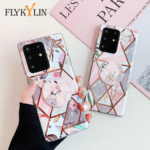 FLYKYLIN Art Flower Leaves Stand Holder Case For Sa
